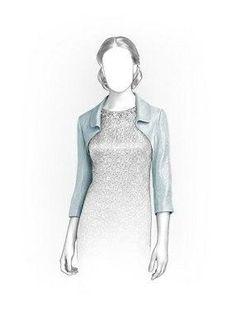 (9) Name: 'Sewing : Bolero Sewing Pattern 5865