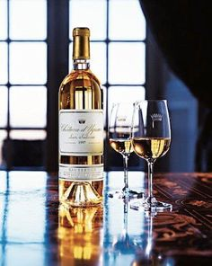 Chateau d'Yquem  ~~The Taste of Pure Gold