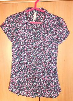 Kup mój przedmiot na #vintedpl http://www.vinted.pl/damska-odziez/koszule/11567055-koszula-house-elegancka-kwiaty-na-co-dzien