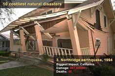 10 costliest natural disasters - Northridge earthquake