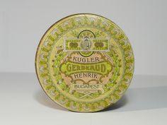 Korai Kugler Henrik Gerbeaud  csokoládé doboz / Vintage Chocolate Box, Candy Box