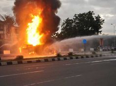 30 Oil Pipeline Vandals Burnt To Death In Lagos-Ibadan Road