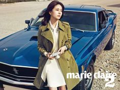 Baek Jin Hee took a ride and enjoyed the breeze for Marie Claire [More Image] >> http://kpopselfie.blogspot.com/2015/10/baek-jin-hee-took-ride-and-enjoyed.html