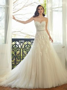 Cheap wedding gowns, Buy Quality chinese wedding gown directly from China a line wedding dress Suppliers: C.V Appliques Beading Lace A line Wedding Dresses New Arrival European Fashion Sashes Court Train Chinese Wedding Gown Tulle Wedding Gown, Applique Wedding Dress, 2015 Wedding Dresses, Sweetheart Wedding Dress, Perfect Wedding Dress, Designer Wedding Dresses, Bridal Dresses, Lace Applique, Sofia Tolli Wedding Dress