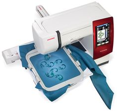 As Unique As You: The Brand New Memory Craft 9900 from Janome Debuts Today | Sew4Home