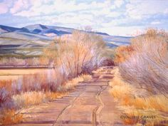 Slide Show Gallery Original Paintings of the Southwest, Oils, Pastels, Acrylics, by Taos Artist Valerie Graves- Taos and Santa Fe Art Galleries Traditional Southwest Landscapes, Adobe Walls, Indian scenes and more!