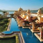 Hotel, The Oberoi Udaivilas, Udaipur, India Ranked No. 1 in the list of hotels and travel the world's best this year is the Oberoi Udaivilas and borders a Places Around The World, The Places Youll Go, Places To See, Around The Worlds, Beautiful Hotels, Beautiful Places To Visit, Amazing Hotels, Amazing Places, Beautiful Scenery