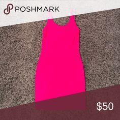 Boulee Hot Pink Mini Dress Boulee Hot Pink Mini Dress Boulee Dresses Mini