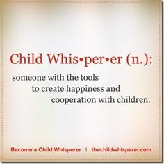 Become a Child Whisperer