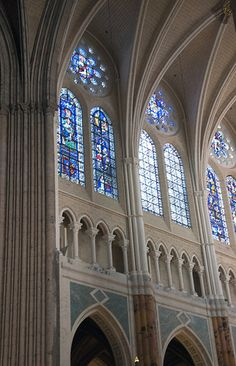 Cathedral Interior ~ Notre Dame Cathedral ~ Centre-Val de Loire ~ France