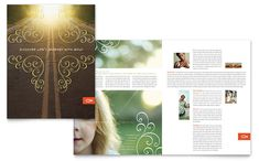 Christian Church Religious Brochure Template Design by StockLayouts