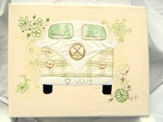 Campervan Textile Art £45.00