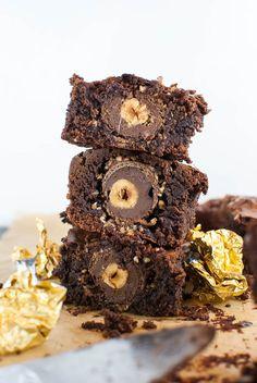 Rocher-Brownies (oder auch einfach: die besten Brownies, die du je essen wirst)