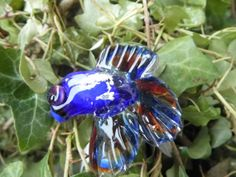 Lampwork Glass Fish  Hand Made Collectable  by TurnerRoweGlassArt, £12.50