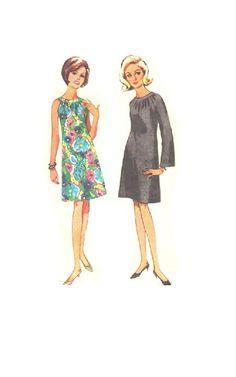 Butterick 60s Retro Sewing Pattern Mod by AdeleBeeAnnPatterns, $8.50