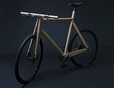 La bici in legno che si stampa3D.   #Eco #Design #Wood #3D #bike #3dprintint #bicycle