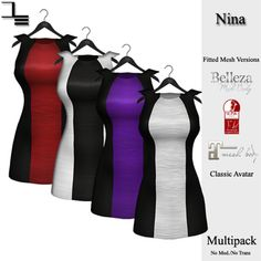 https://marketplace.secondlife.com/p/DE-Designs-Nina-Dress-Color-Block-Multipack/7091703
