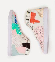 Zapatos pintados a mano Ashley Goldberg, Gorman Shop