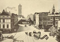 Der Alexanderplatz um das Jahr 1900