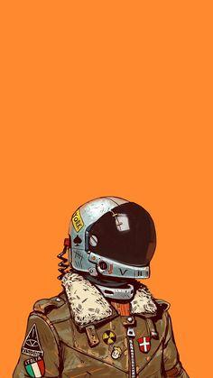 Astronaute Espace Univers Galaxie Aesthetic NASA Space Astronaut Wallpaper Illustration