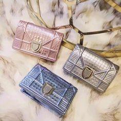 Dior Calfskin Diorama Baby Pouch Fall 2015