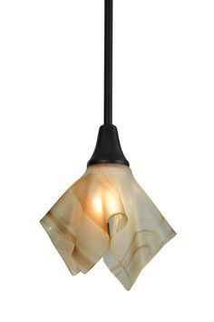 9 Inch W Metro Cognac Swirl Handkerchief Mini Pendant - 9 Inch W Metro Cognac Swirl Handkerchief Mini PendantAn elegant handkerchief styled shade is the result ofhigh-fired Cognac colored art glass. The Metro pendantis embraced with solid brass hardware finished inCraftsman Brown and ideal for placement over bars,counters, islands and tables in home, retail and hospitality locations. Handcrafted by Meyda artisans in the USA. Theme: Product Family: Metro Cognac Swirl Handkerchief Product…