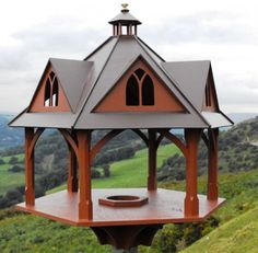 Stunning designer bird tables direct from the maker.