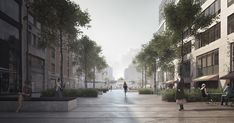 COBE and BRUT to create new entrance plaza for EU headquarters