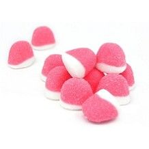 Pufflettes Pink Strawberry Gummy Bites: 5 LBS