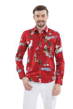 5aafeb99 30 Best Hawaiian Santa Collection images   Hawaiian, Aloha shirt ...