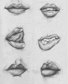 desiderio desire lip bite mouth art print art pinterest