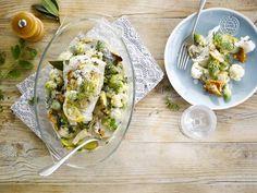 Alpro - Kabeljauw in een zee van groenten  - Een eenvoudig te bereiden ovenschotel met Alpro Cuisine