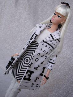 London Calling : Former 'Lingerie #4' Silkstone Barbie.Wide Eyed Girls - One-Of-A-Kind (OOAK) Fashion Dolls by Dan Lee
