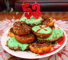 Donat Tart Special buat nyokap,  Happy Bday Mam, wish u luck & all the best #hugs