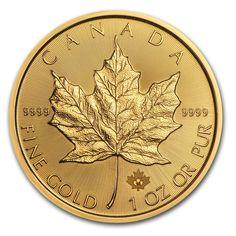 Moneda Maple Leaf 2016 Oro 1 oz