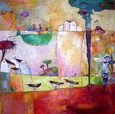 """Saatchi Online Artist Agnieszka Pawłowska; Painting, """"Of mY dreaMs"""" #art"""