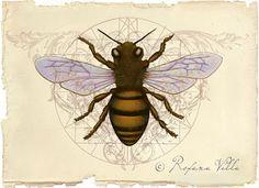 Roxana Illuminated Perfume: Honey Bee Art