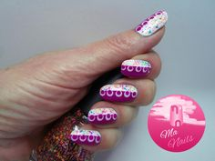 Neon Violet Mix Nails     http://ma-nails.co.uk/neon-violet-mix-nails/