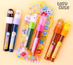 Buy Kawaii Animal Mechanical Pencil Refills Set of 2 at Tofu Cute