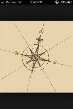 Compass tattoo possibilities