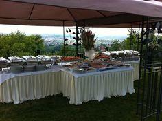 Catering Tim Lisak outdoor wedding