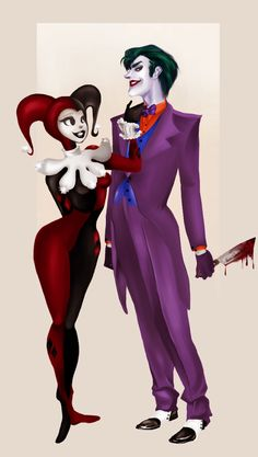 Joker and Harley QuinnWeSt `;^;`                                                                           CeNtRaL PaSAdENa NiA 4 CaLi {-^-}                                _|\/L       `~v`~';} :)