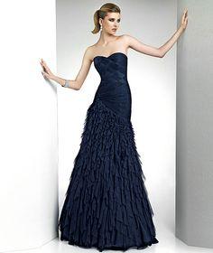 Pronovias te presenta el vestido de fiesta Helio 2012. | Pronovias