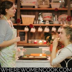 Annamarie Beilner and Irina Ammosova share their Christmas cookie baking traditions inside the fall 2016 issue of Where Women Cook.