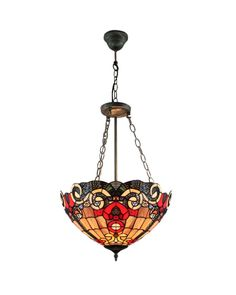 Tiffany Victorian Pendant Mount Uplight