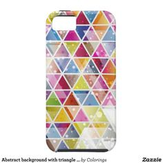 Abstract background with triangle pattern iPhone 5/5S cases #iphone #iphonecases