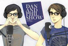 DAN AND PHIL SHOW ON BBCR1 FJADFSFL by carrienloveyou.deviantart.com on @deviantART
