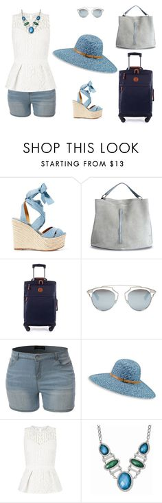 """""""SUMMER VACATIONS ♥"""" by lili333 on Polyvore featuring moda, Ralph Lauren, Maison Margiela, Bric's, Christian Dior, Betmar y Lipsy"""