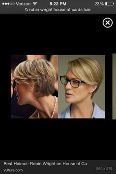 glasses robin wright house of cards - Google Search | Lunettes ...
