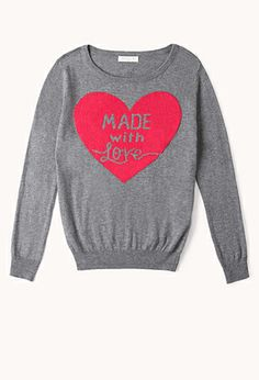 Made With Love Sweater (Kids) | FOREVER21 girls - 2002246025